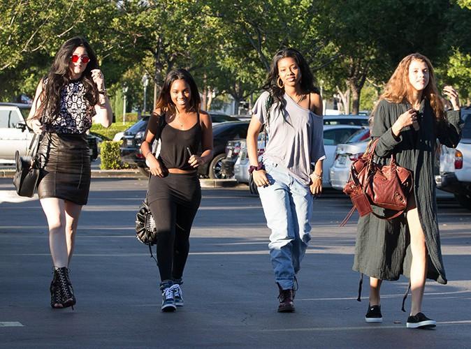 Kylie Jenner à Calabasas le 27 août 2013