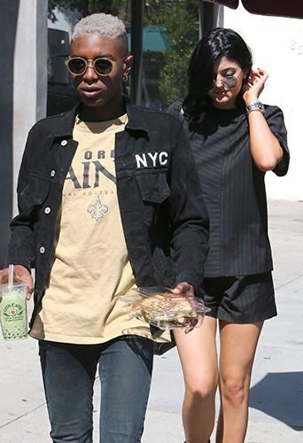 Kylie Jenner et Shamari Maurice à Los Angeles le 10 juillet 2014