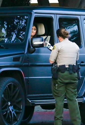 Kylie Jenner à Los Angeles le 4 janvier 2014