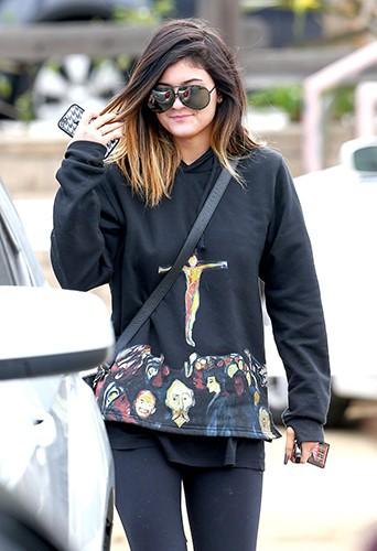 Kylie Jenner à Los Angeles le 8 février 2014