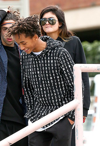 Kylie Jenner et Jaden Smith à Los Angeles le 8 février 2014