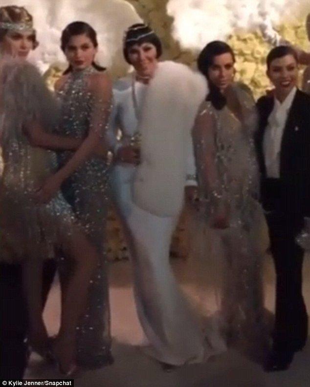 Le clan Kardashian Jenner