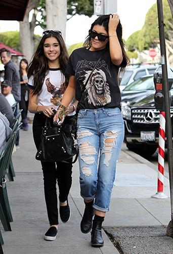 Kylie Jenner à Los Angeles le 15 décembre 2013