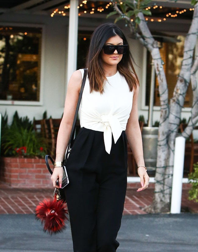Kylie Jenner à Hollywood le 15 janvier 2014