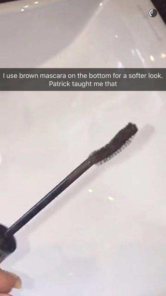 La routine beauté de Kylie Jenner : Le mascara