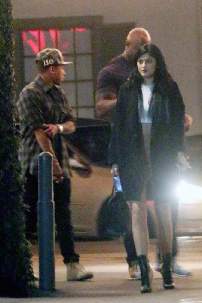 Photos : Kylie Jenner : diner en tête-à-tête avec Tyga, papa célibataire !