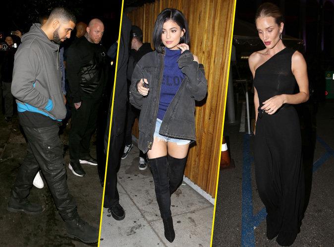 Kylie Jenner, Drake, Rosie Huntington-Whiteley... Tous r�unis pour l'after du concert de Rihanna !