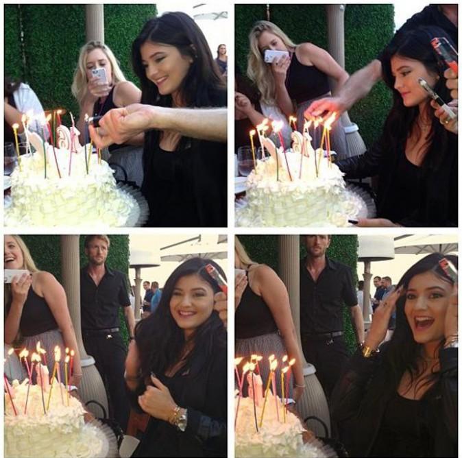 Kylie Jenner a fêté ses 16 ans hier !