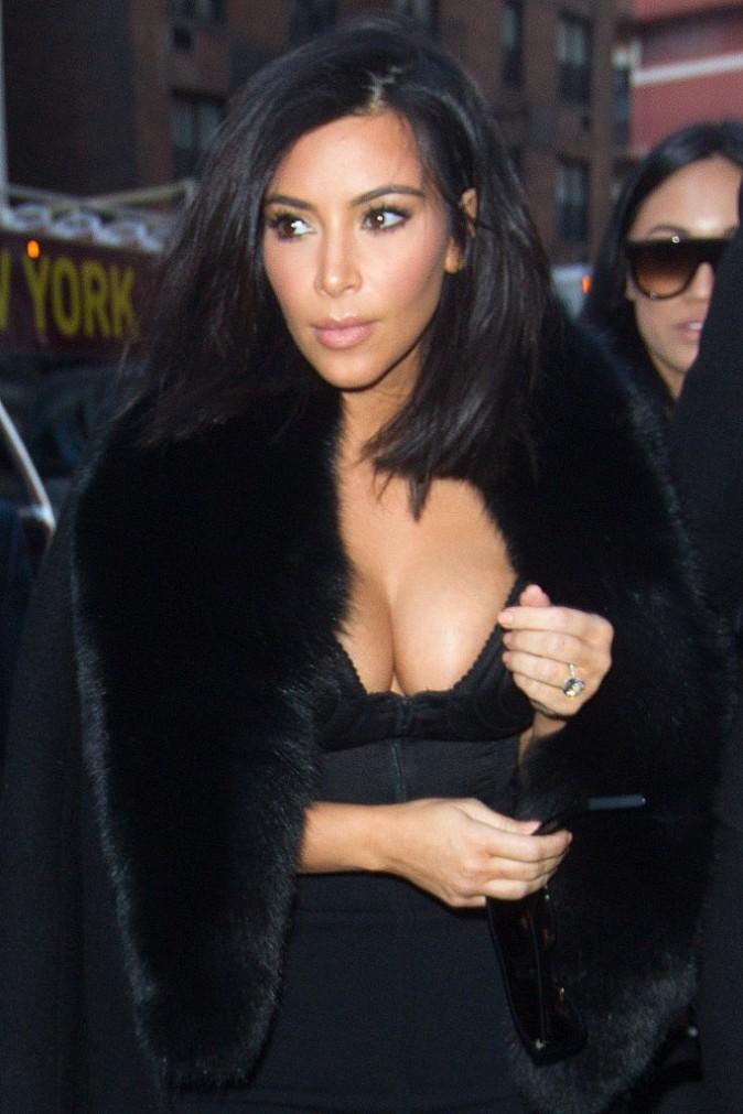 Kim Kardashian le 11 février 2015