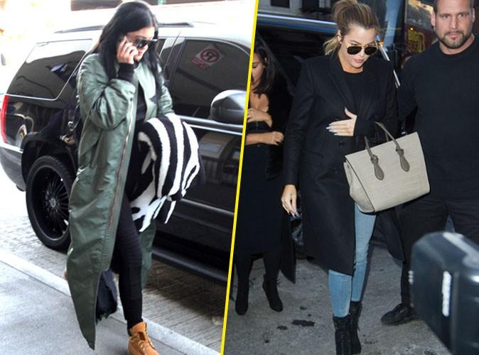 Photos : Kylie Jenner : elle débarque à New York rejoindre ses sœurs !