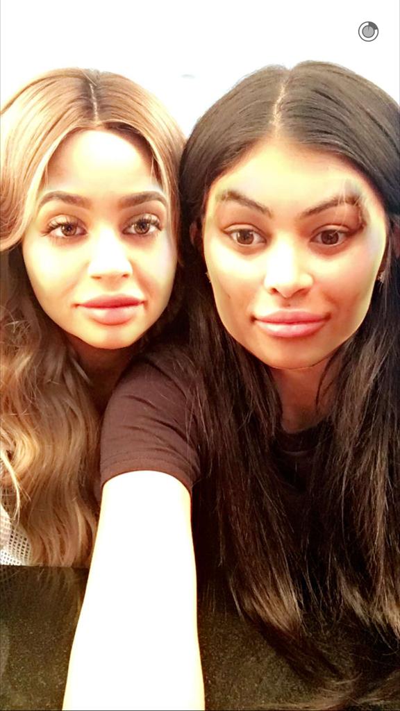 Kylie et Blac Chyna réunies