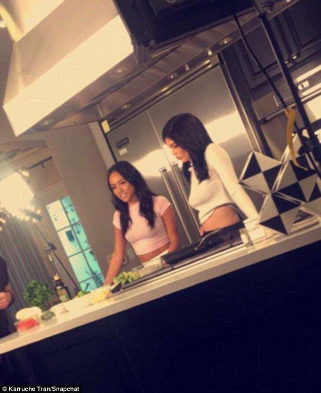 Kylie Jenner et Karruech Tran ont un projet commun !