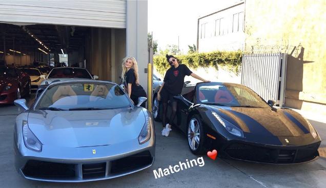 Kendall Jenner et Kylie Jenner se sont achetées deux Ferrari