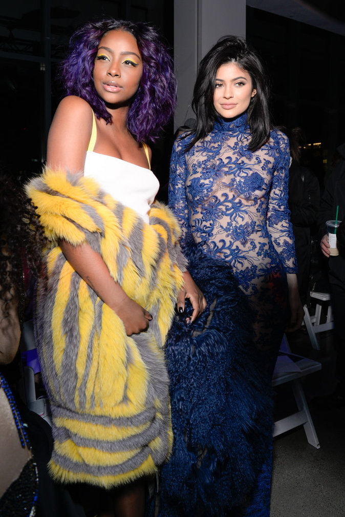 Kylie Jenner lors du défilé VFILES Fall/Winter 2016 à New York, le 10 février 2016.