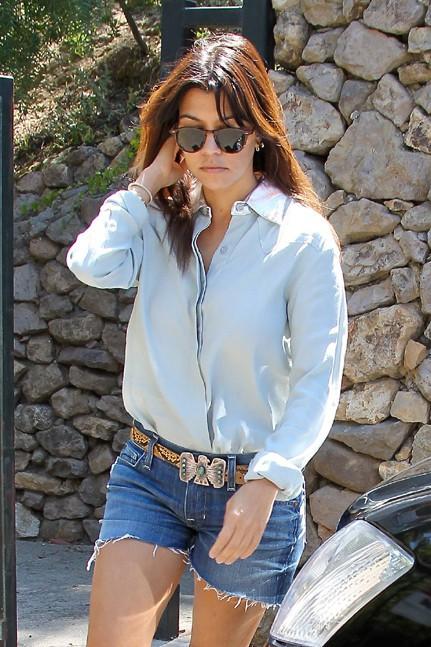 Kourtney Kardashian à Beverly Hills le 20 août 2013