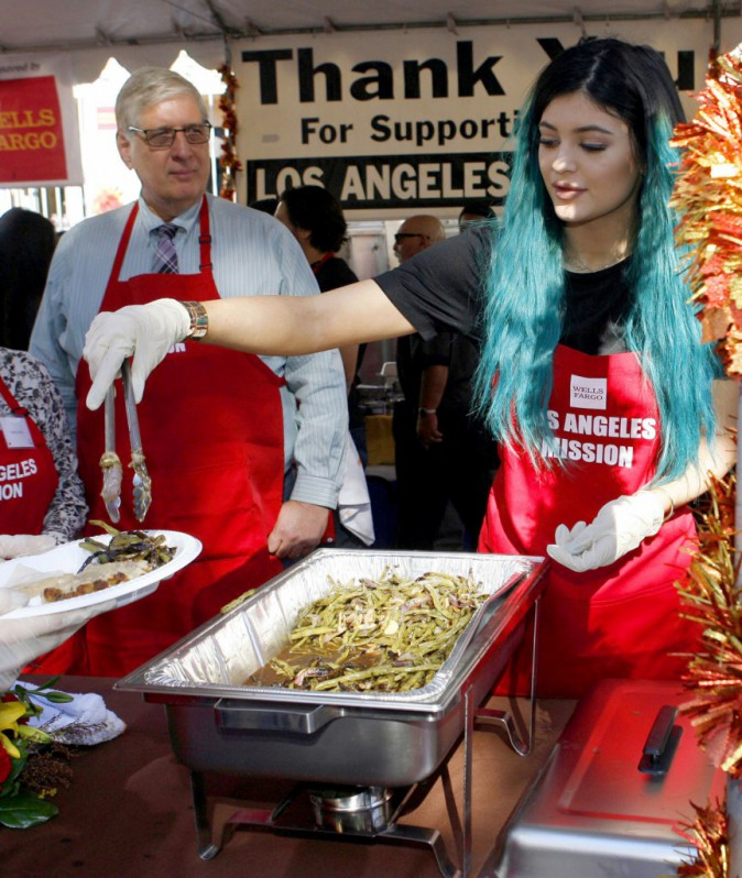 Kylie Jenner à Los Angeles le 26 novembre 2014
