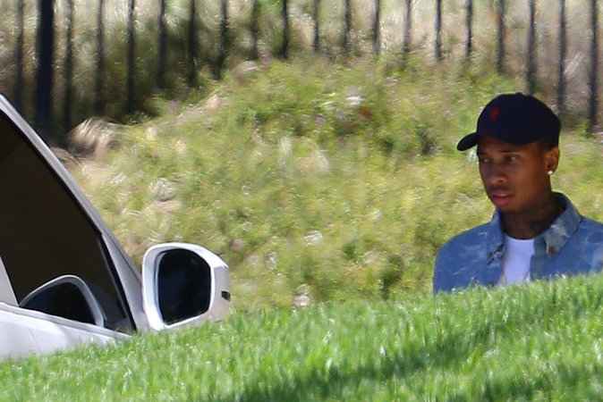 Photos : Kylie Jenner et Tyga recherchent appartement ou maison...