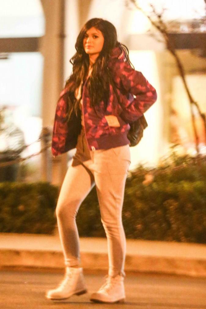 Kylie Jenner et Tyga : séance de cinéma tard le soir pour les deux tourtereaux...