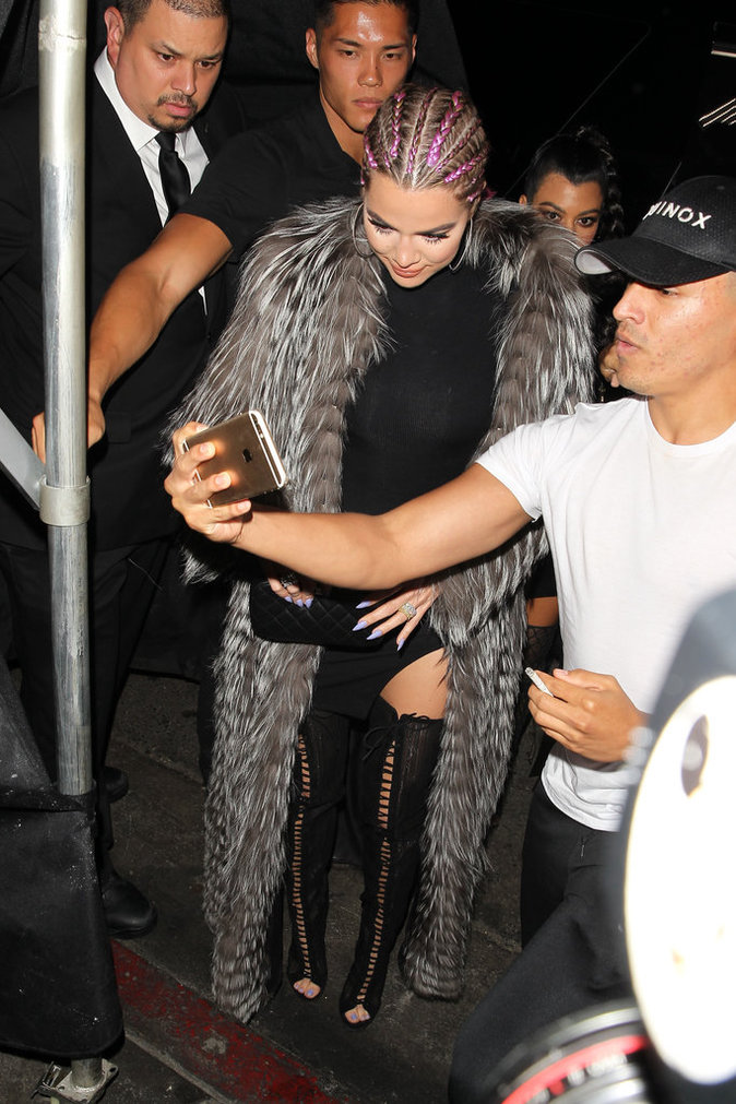 Khloe Kardashian le 31 juillet 2016 à Los Angeles