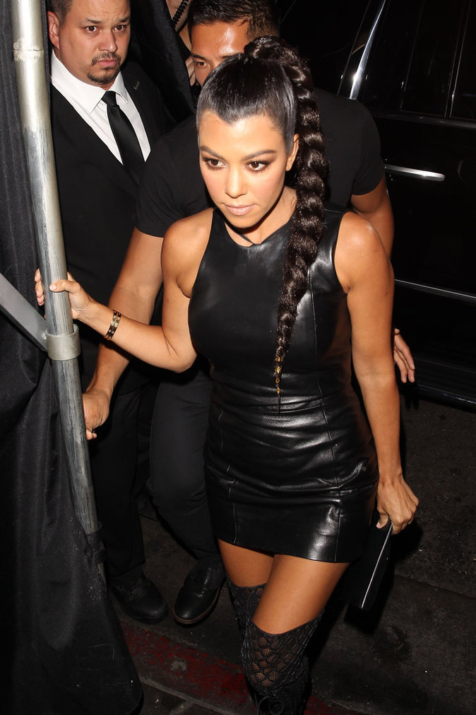Kourtney Kardashian le 31 juillet 2016 à Los Angeles