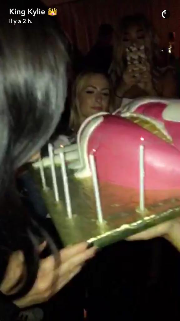 La gâteau de la fête au Nice Guy Club le 31 juillet 2016