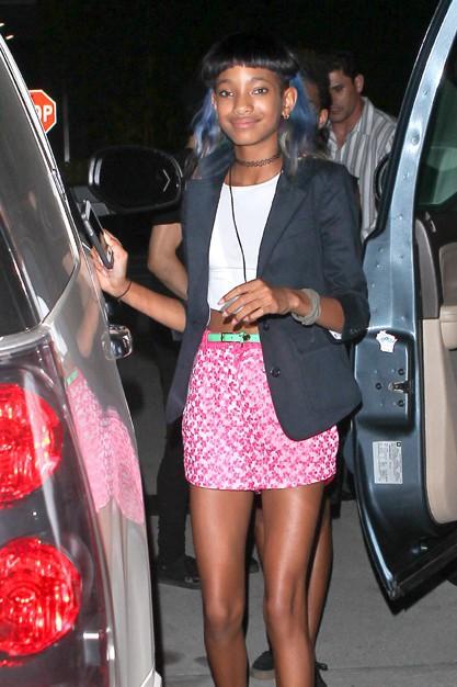 Willow Smith à la fête d'anniversaire de Kylie organisée à Los Angeles le 17 août 2013