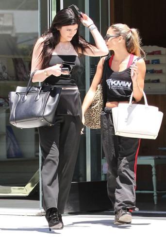 Kylie Jenner à West Hollywood le 16 juillet 2013