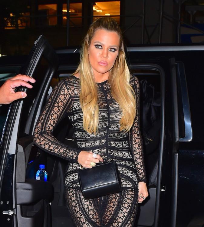 Khloe Kardashian le 14 septembre 2015