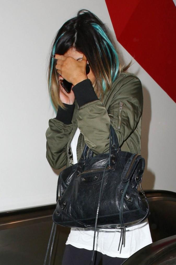 Photos : Kylie Jenner opte pour des mèches bleues alors que Justin Bieber serait son cavalier pour le mariage de sa demi-soeur !
