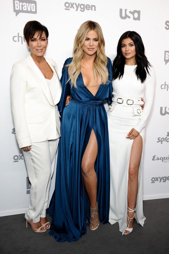 Kylie Jenner, Kris Jenner et Khloe Kardashian le 14 mai 2015