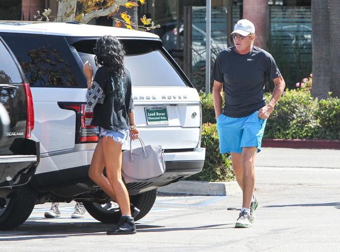 Kylie et Bruce Jenner à Los Angeles le 27 septembre 2014