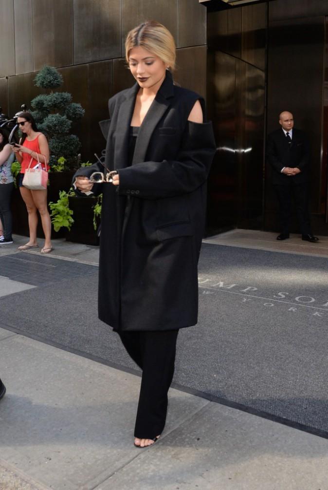 Kylie Jenner à New York le 15 septembre 2015