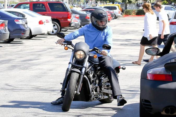 Bruce et Kylie Jenner à Malibu, le 16 mars 2014.