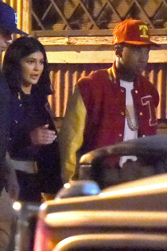 Kylie Jenner et Tyga à Los Angeles le 16 octobre 2015