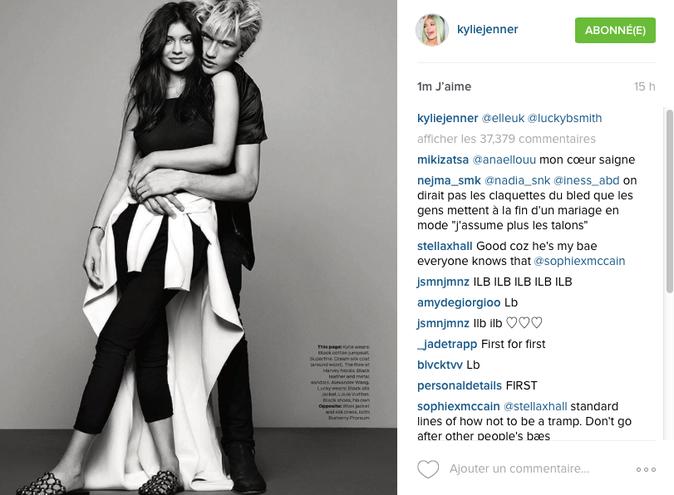 """Photos : Kylie Jenner se confie : ''j'aimerais vivre ma vie et arrêter tout cela"""""""