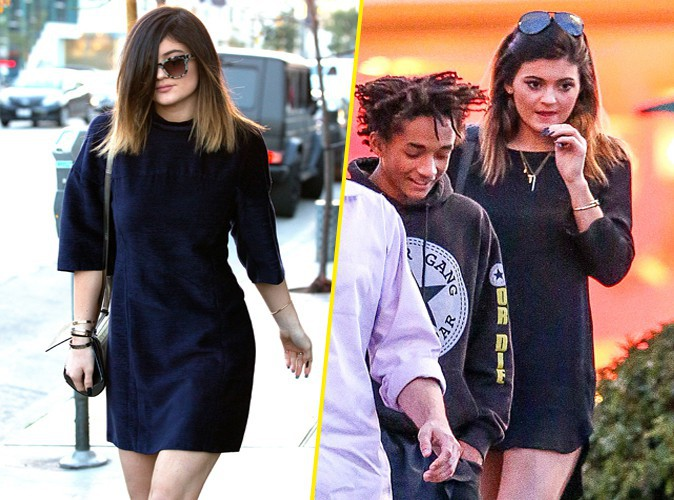 Kylie Jenner et Jaden Smith à Los Angeles le 23 février 2014