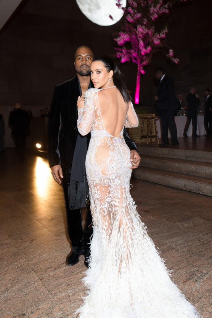 Kim Kardashian au Met Gala 2015