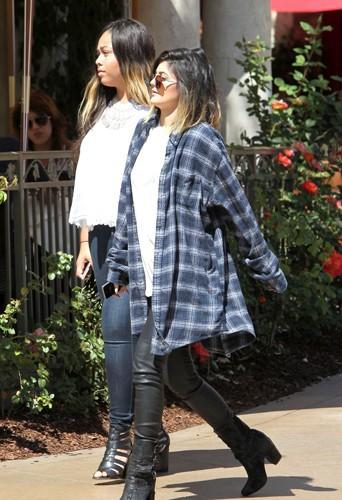 Kylie Jenner à Los Angeles le 28 avril 2014