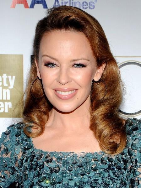 Kylie Minogue le 11 octobre 2012 à New York