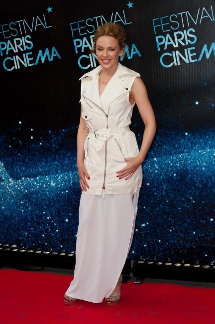 Kylie Minogue lors du Festival Paris Cinéma à Paris, le 28 juin 2012.