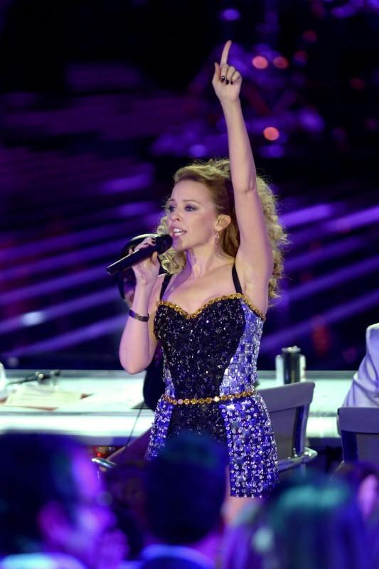 Kylie Minogue le 6 décembre 2012 à Milan