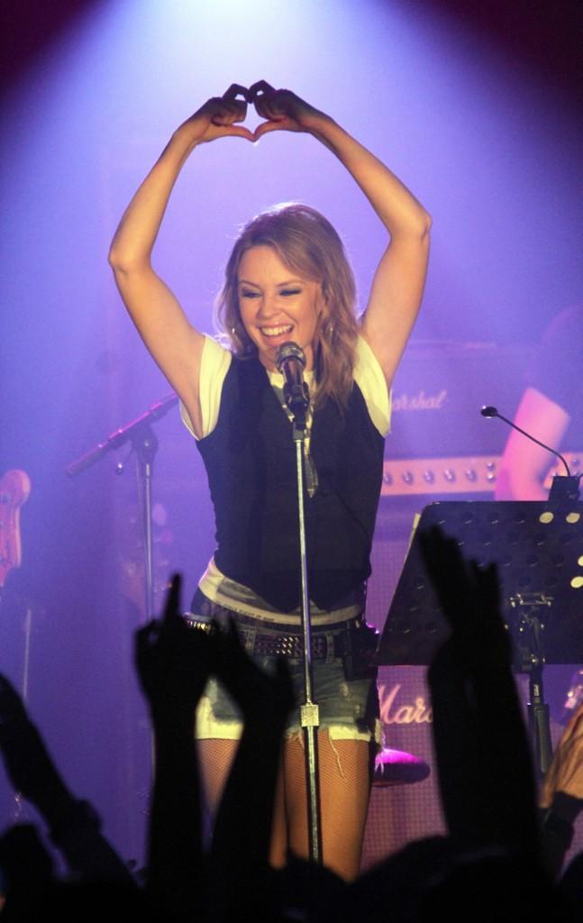 Pour son Anti-Tour, Kylie Minogue va à l'essentiel...