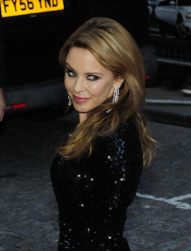 Kylie Minogue le 18 septembre 2012 à Londres