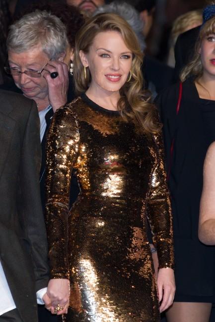 Kylie Minogue lors du 65e Festival de Cannes, le 23 mai 2012.