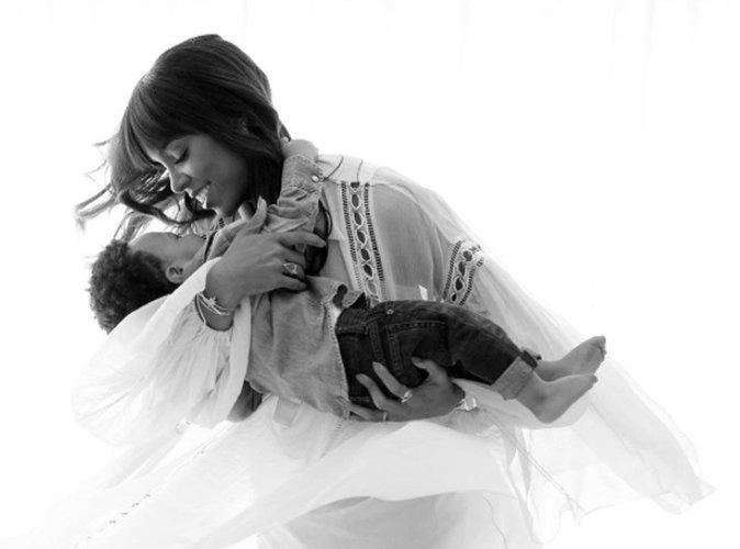 Photos : l'adorable hommage de Kelly Rowland à son fils pour ses 1 an !