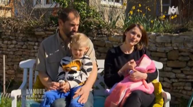 Loïc et Stéphanie avec leur petite famille