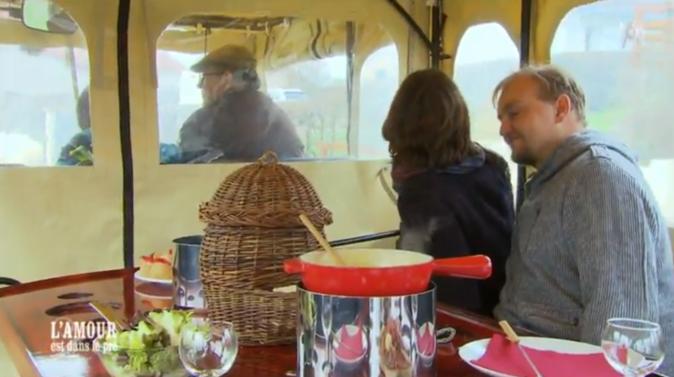 Randonnée-déjeuner en calèche pour Julien et Louise