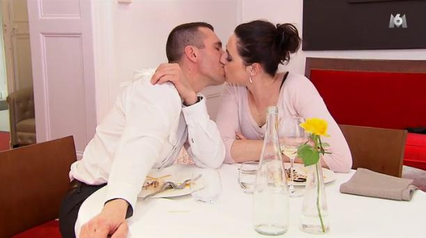 ... au point d'embrasser sa belle Charlotte !