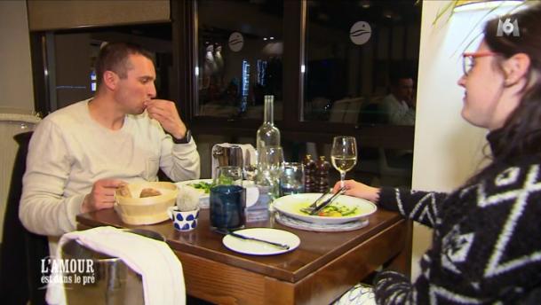 Dernier repas aussi pour Sébastien et Charlotte !