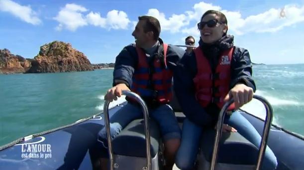 Le bateau est aussi au programme de Sébastien et Charlotte